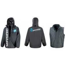Shepherd 3-in-1 team jacket black – S