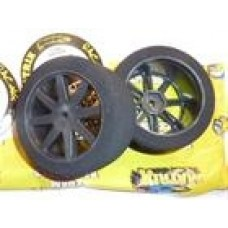 FRONT AIR CARBON 35 RC MODEL TIRES  1-10
