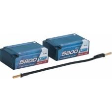 LIPO COMP CAR HARDCASE DOPPIA PER OFF ROAD 1-10 5800