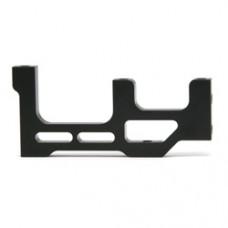 Banchino laterale dx  supporto motore alto black