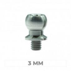 Kit Pivot titanio 5 mm grano 3 mm (2 pz) MTC2