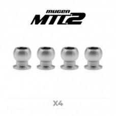 Kit pivot ball titanio 5 mm (4 pz) MTC2