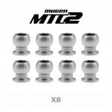 Kit pivot ball titanio 5 mm (8 pz) MTC2